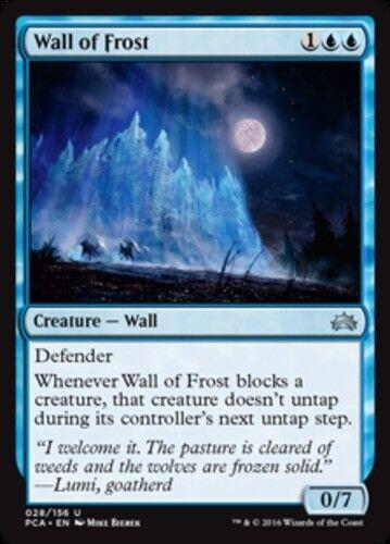 4x Wall of Frost NM-Mint English Planechase Anthology MTG Magic