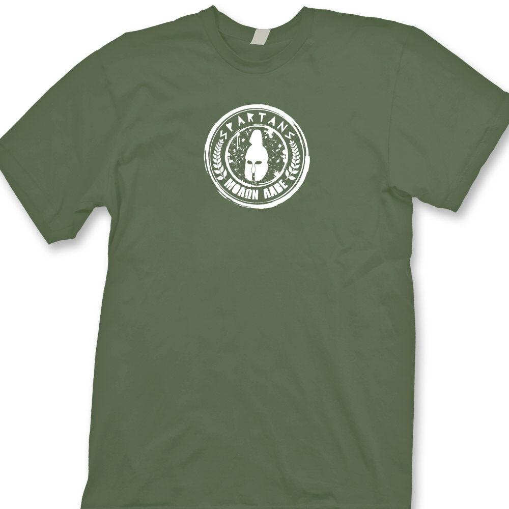 Molon Labe Spartans Greece Gun Rights T-shirt Warriors Soldiers Long Sleeve Tee