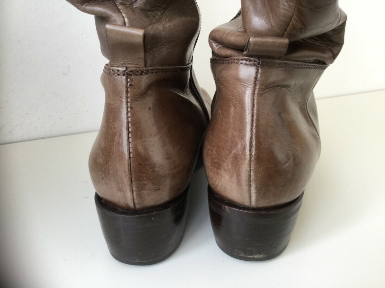 AGL AGL AGL Stiefel Damen 36,5 braun taupe sehr gepflegt 0a70b2