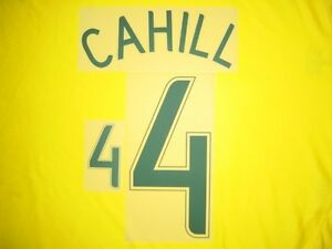 23d70c1f5 4 CAHILL NAME NUMBER SET FOR WORLD CUP 2006 AUSTRALIA SOCCEROOS HOME ...