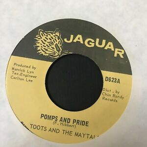 Toots-amp-The-Maytals-Pomps-and-Pride-7-034-Jaguar-Jamaica-Press-Reggae-UNPLAYED