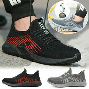 Indestructible Ryder Safety Shoes Men Women Steel Toe Air lightweight Boots YN