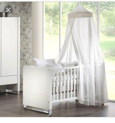 2019 Neuestes Design Schardt Baby-/kinderbett Pure Matt Weiß