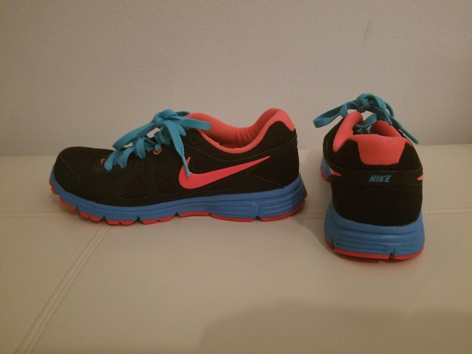 NEW femmes rose Nike Noir Bleu Hot rose femmes Electric Mesh Running Training Chaussures 7.5 61e31e