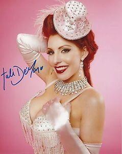 Tali Demar Nude Model Signed Photo 20 Exotic Dancer Mag