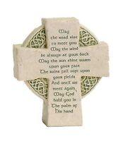 Roman Petite Standing Cross Celtic Irish Blessing Free Shipping