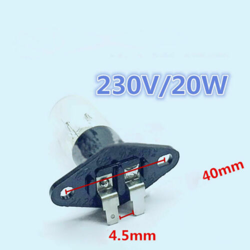 For Haier//Galanz//Panasonic//LG Microwave Oven Refrigerator Replace Bulb Light 20W