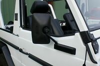 MERCEDES G GE GD 2x AUSSENSPIEGEL SPIEGEL rear view mirror W460 W461 WOLF