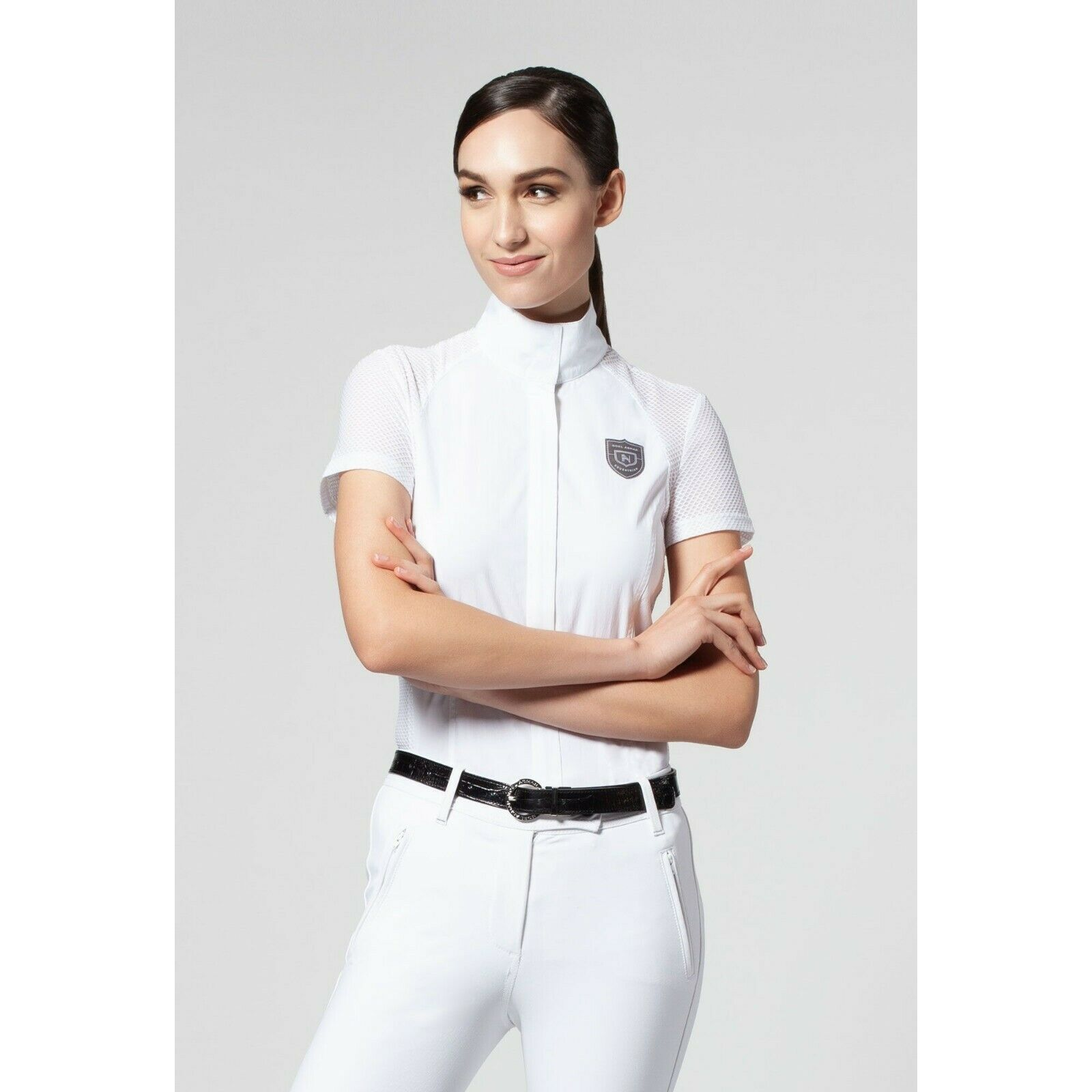 Noel Asmar Ladies  Iris Short Sleeve Show Shirt - Different colors and Sizes  latest styles