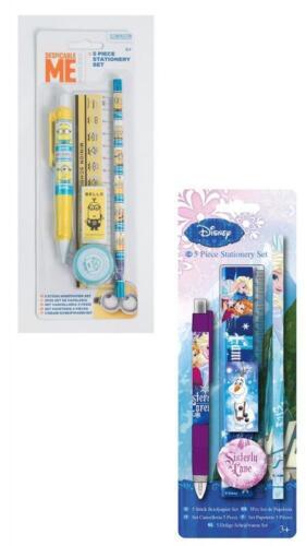 Frozen Minion Schreibset Vorschule Schule Schreibset Disney Zeugnis Einschulung