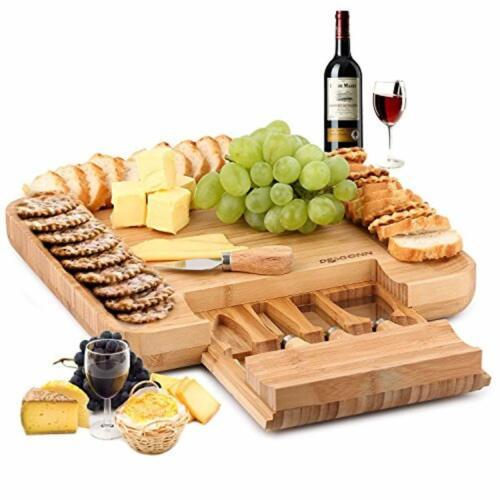 Bamboo Cheese Board Best Housewarming Wedding Gift Idea For Women Men The Couple