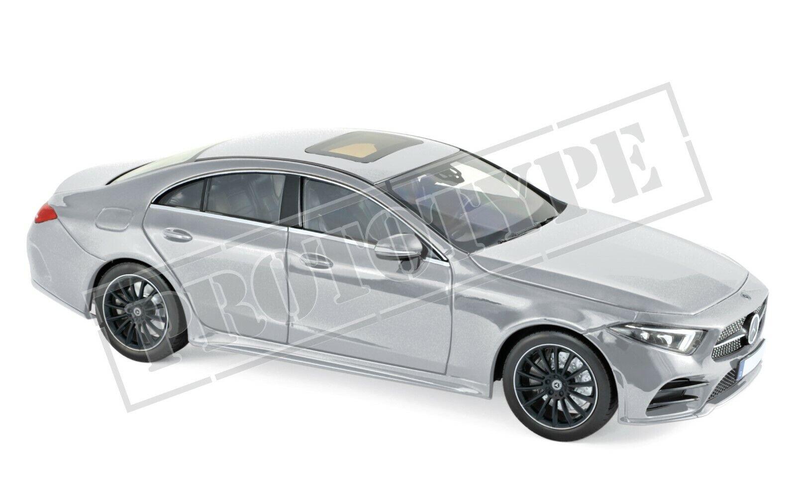 Mercedes CLS-classe (CLASS) 2018 argent 1 18 Norev 183489 NOUVEAU & NEUF dans sa boîte