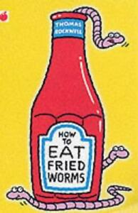 How-to-Eat-Fried-Worms-Red-Apple-by-Thomas-Rockwell-Good-Used-Book-Paperback