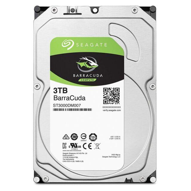 Seagate Internal Hard Disk 3.5 Inch 3TB PC Users BarraCuda ST3000DM007 Japan