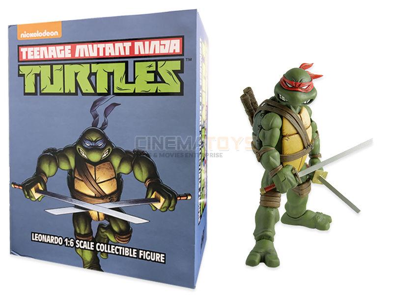 TMNT Teenage Mutant Ninja Turtles Leonardo Tartarughe Action Figure 1/6 Sideshow