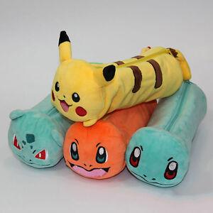Pokemon-Pencil-Bag-Makeup-Cosmetic-Brush-Pouch-Pen-Pencil-Case-Plush-Bag
