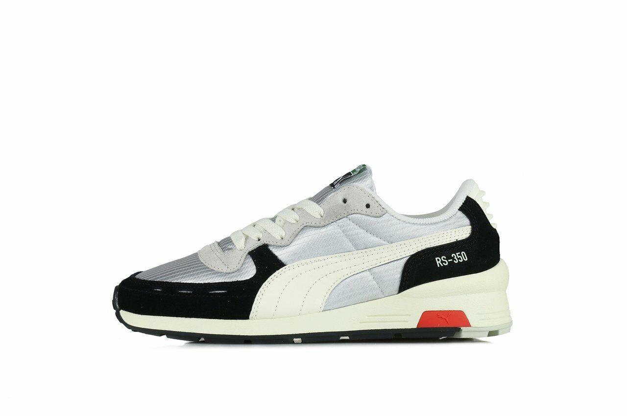 [Puma] 36557401 RS-350 Originales para Hombres y Mujeres Running Zapatos Zapatillas gris