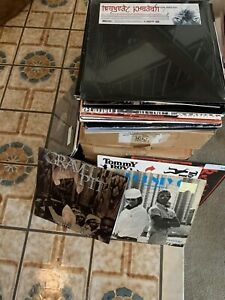 Vinyl-Record-Box-Lot-Of-10-Records-90s-2000s-Hip-Hip-RnB-pop-House-Trance