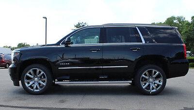 Chevrolet Tahoe YUKON 15-18 Body Side Molding Overlay Stainless Steel chrome