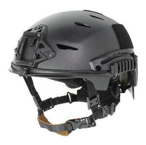 AIRSOFT-BUMP-TYPE-HELMET-BLACK-ABS-MARSOC-USSF-OPS
