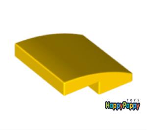 Lego 6x Dach Bogen Stein 2x2 Gelb Yellow Slope Curved 15068 Neuware New