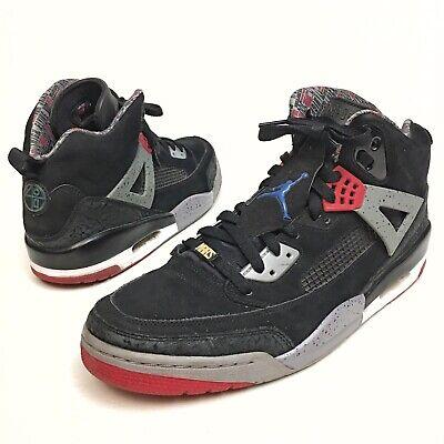 newest e211c b638b Nike Air Jordan Spizike Black Red Cement Military Blue 315371-062 Sz 13  EU47.5   eBay