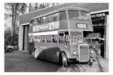 gw0009 - East Midland Bus D48 at Mansfield in 1961 - photograph