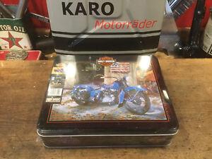 Puzzle 1000 pièces Harley Knucklehead Star Frame Très Rare 50x70cm Ravensburg