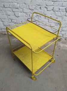 ORIGINAL-1950s-MATHIEU-MATEGOT-TABLE-ROULANTE-TEA-BAR-TROLLEY-CART-JAVA-WISKEY