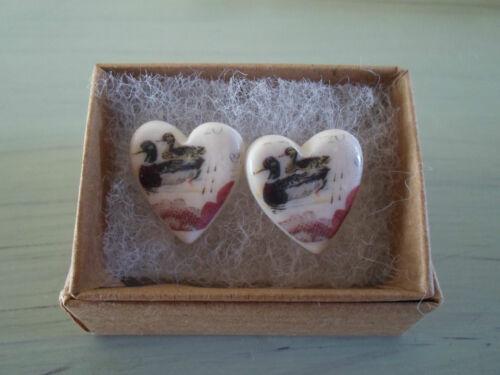 Joyas artesanales de cerámica de inspiración vintage-Anillo collar o pendientes