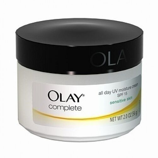 Olay Complete All Day UV Moisture Cream SPF 15, Sensitive Skin 2 oz (56 g)