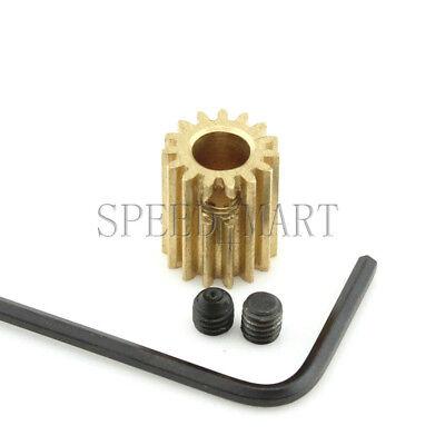0.5M11T 2mm 3mm Bore Hole 11 Tooth Width 5mm Module 0.5 Motor  Metal Spur Gear