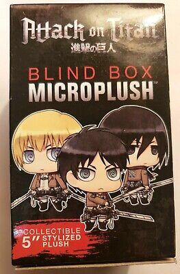 "Attack On Titan Blind Box Micro Plush 5"" Stylized Plush ..."