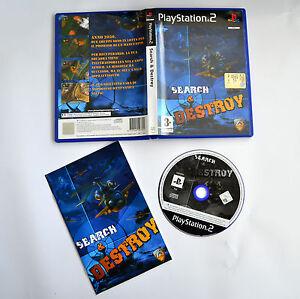 PS2-Search-amp-Destroy-PAL-Usato-con-Manuale-Buone-Condizioni