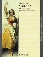 Carmen Vocal Score Book 050486269