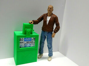 Newspaper-Box-Green-1-10-scale-Action-Figure-Diorama-doll-house-Accessories