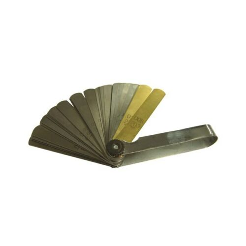TOLEDO Feeler Gauge 0.038mm,0.889mm Straight 38 Blade Metric//Imperial