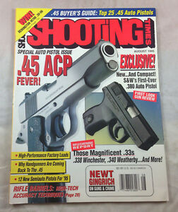 .45 Buyers Guide .338 Winchester August 1995  Shooting Times  Magazine Vintage