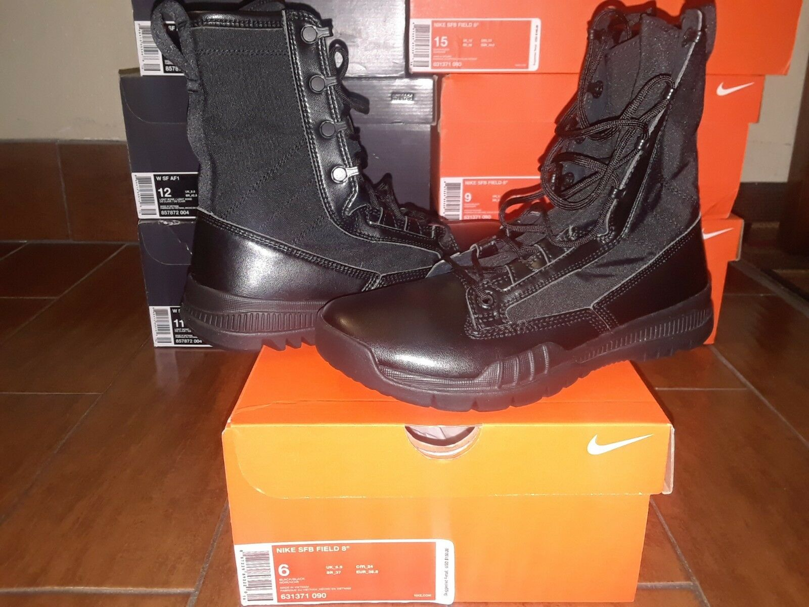 Nike Air SFB 8  Special Field Field Field ACG Black Police Swat Military Tactical 631371 090 ff509c