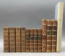 12 Vols: Compleat Angler, Milton, Fielding... Lot 110