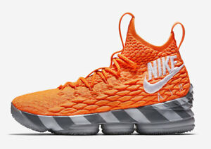 7088e825ebf1 2018 Nike Zoom Lebron XV 15 KS2A SZ 9 Orange Box James Watch PE ...