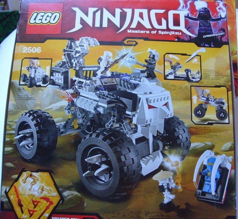 NEUF       LEGO  Ninjago - 2506  -  Le 4x4 Squelette - Jeu de construction -