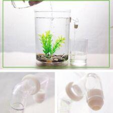 Item 2 LED Mini Fish Tank Aquarium Self Cleaning Bowl Convenient Desk Aqua PF