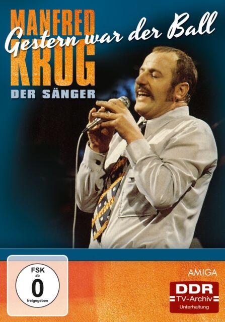 Manfred Krug - Gestern war der Ball - Manfred Krug der Sänger, 1 DVD