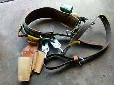 Buckingham Lineman Tool Belt And Pouch Size 24