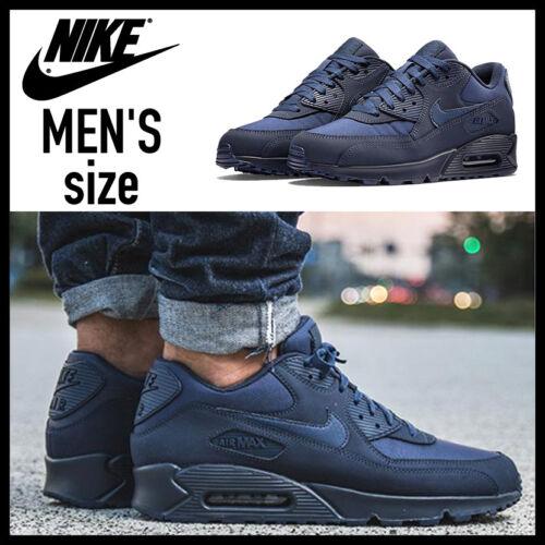 Navy 90 Max Essential Air Nike 91203099311 Hombres medianoche 9 537384 Midnight 412 Navy Sz HU0qan6x