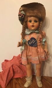 Antique-Composition-ROBERTA-Doll-Original-Clothes-with-Tag-Vintage-htf
