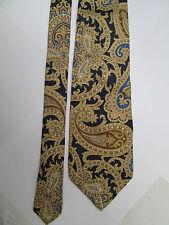 -AUTHENTIQUE cravate cravatte  TRUSSARDI 100% soie  TBEG  vintage
