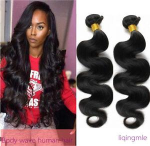 100-Brazilian-virgin-Human-Hair-Body-Wave-Weft-3-Bundles-150g-hair-Extensions