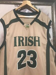 online retailer 76fa8 98f50 Details about Lebron James The Original High School Legends Irish #23  Jersey Limited Edition